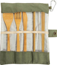 Eat Out [Bamboo] | TRAVEL CUTLERY SET