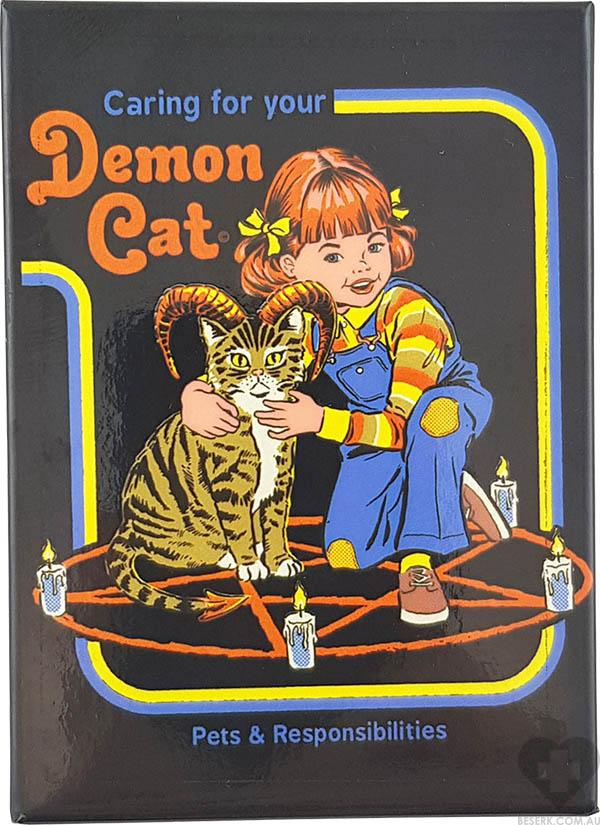 Caring For Your Demon Cat | MAGNET