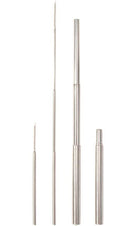 Exectelescopic Metal | STRAW & BRUSH SET