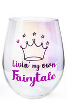 Fairytale [Aurora] | STEMLESS WINE GLASS