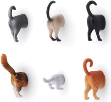 Kikkerland Cat Butt | MAGNETS