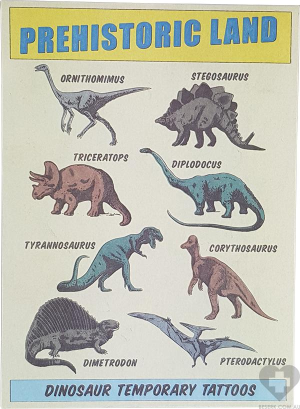 Prehistoric | TEMPORARY TATTOOS