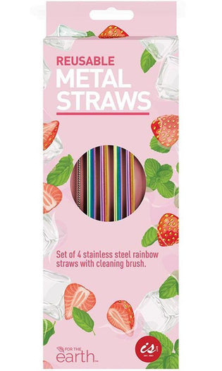 Rainbow Metal | DRINKING STRAWS