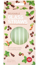 Reusable | GLASS STRAWS
