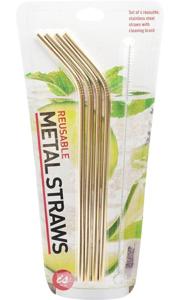 Reusable Metallics | METAL STRAWS*