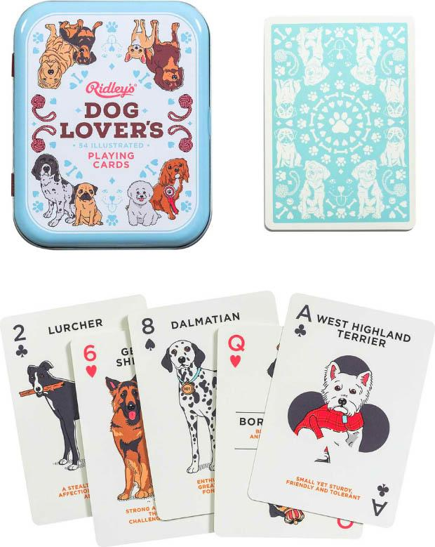 Ridleys Dog Lover's | PLAYING CARDS