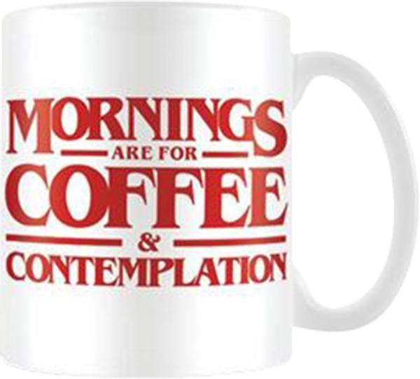 Stranger Things | Coffee And Contemplation MUG