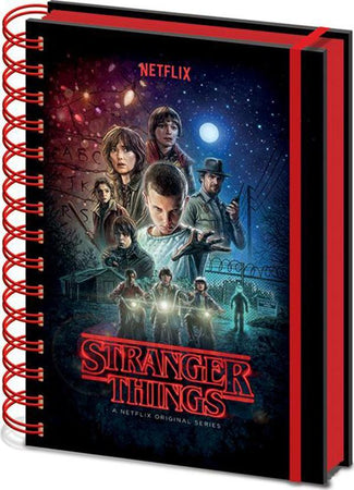 Stranger Things | One Sheet NOTEBOOK