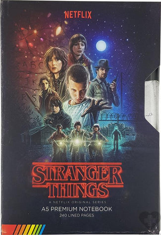 Stranger Things | Vhs NOTEBOOK