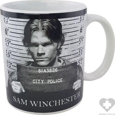 Supernatural Mug Shots | MUG