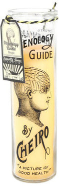 Tattoo Phrenology | TALL CANDLEPOT
