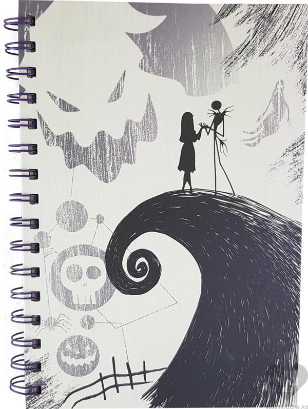 The Nightmare Before Christmas | Spiral Hill NOTEBOOK