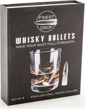 Whisky Bullets Set of 4