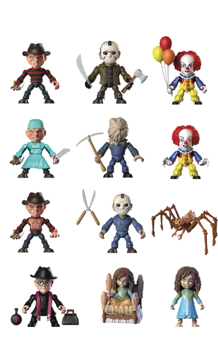 "Classic Horror The Loyal Subjects | 3"" ARTICULATED ACTION VINYLS (BLIND BOX)"