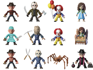 "Classic Horror | 3"" ARTICULATED VINYLS [BLIND BOX]"