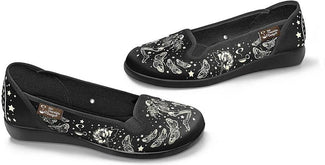 Fallen Angel | SLIP ON FLATS