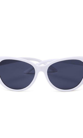 Retro White | SUNGLASSES
