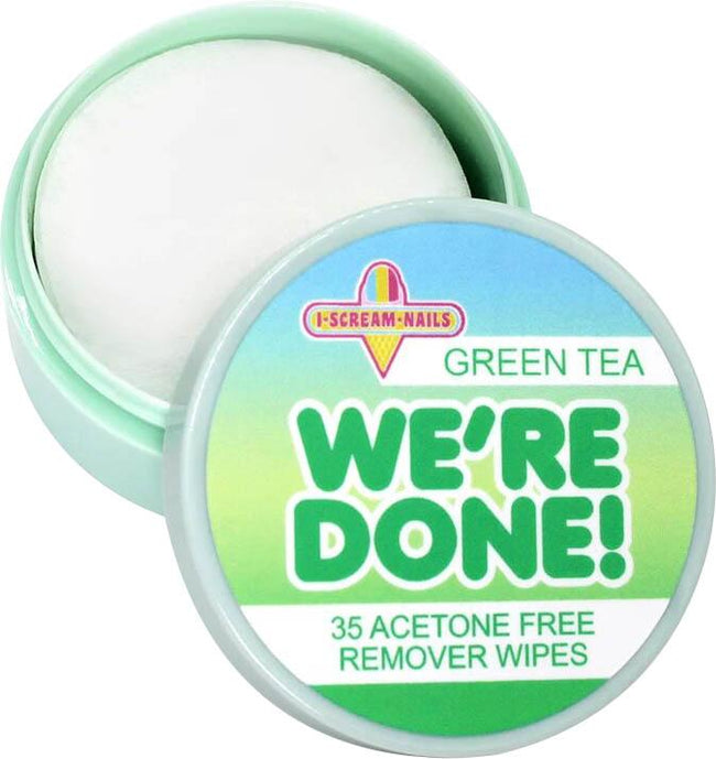 Green Tea | NAIL POLISH REMOVER WIPES