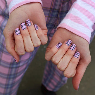 Plaid Is The New Black | NAIL WRAPS