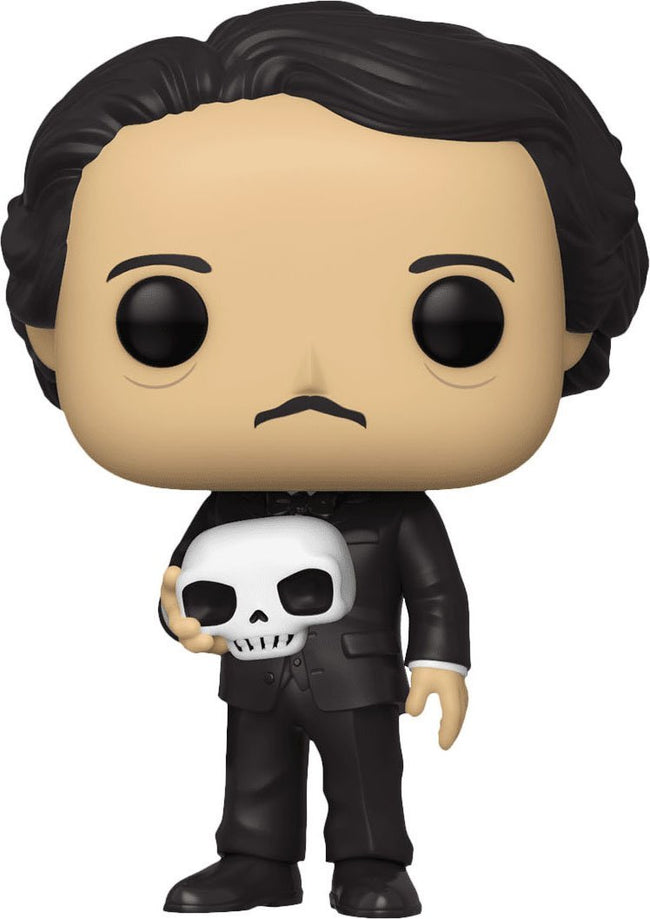 Icons | Edgar Allan Poe With Skull POP! VINYL