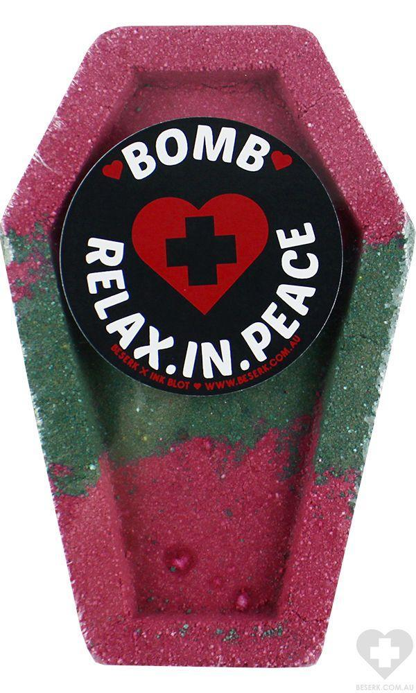 Beserk Relax In Peace | COFFIN BATH BOMB
