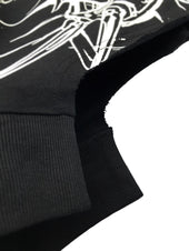 Attention Starved [Black] | ASYMMETRICAL SHIRT