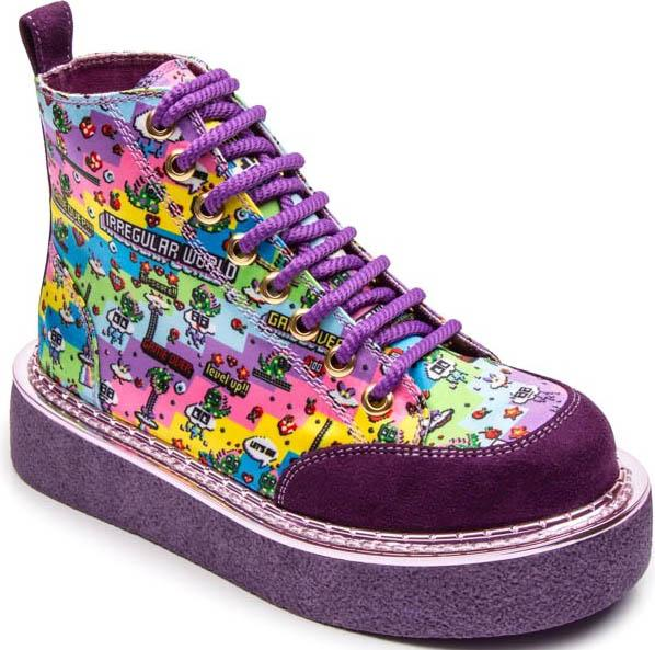 Limit Break [Purple] | PLATFORM SNEAKERS