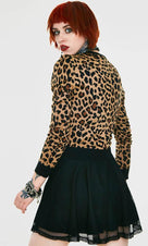 Change My Spots [Leopard] | CROPPED CARDIGAN*
