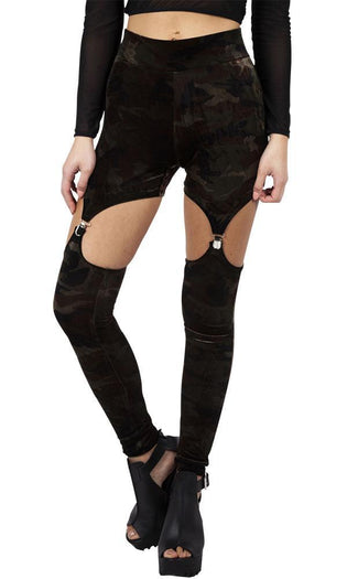 Fight Me [Velvet] | HARNESS LEGGINGS