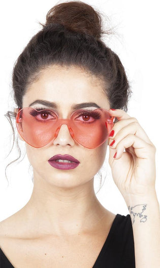 Lonely Heart [Pink] | SUNGLASSES