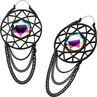 Matte Black Plug | HOOP EARRINGS