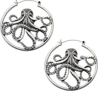 Octopus Plug | HOOP EARRINGS
