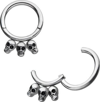 Skull Hinged Segment | RING