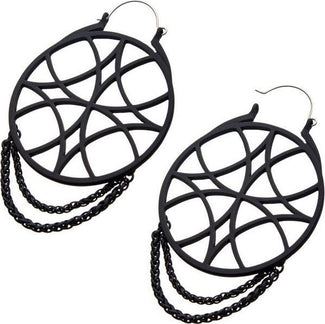 Steelies Web Chain Plug | HOOP EARRINGS
