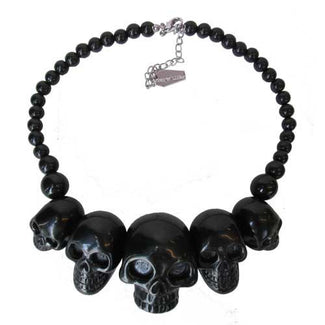 Skull Collection [Black] | NECKLACE