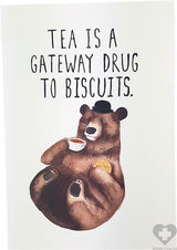 Biscuit Bear | GREETING CARD