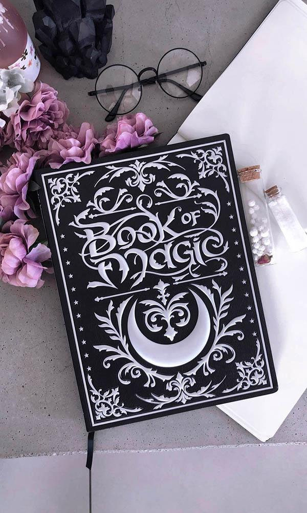 Book Of Magic | LARGE 3D JOURNAL