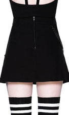 Calling Alice [Black] | MINI SKIRT
