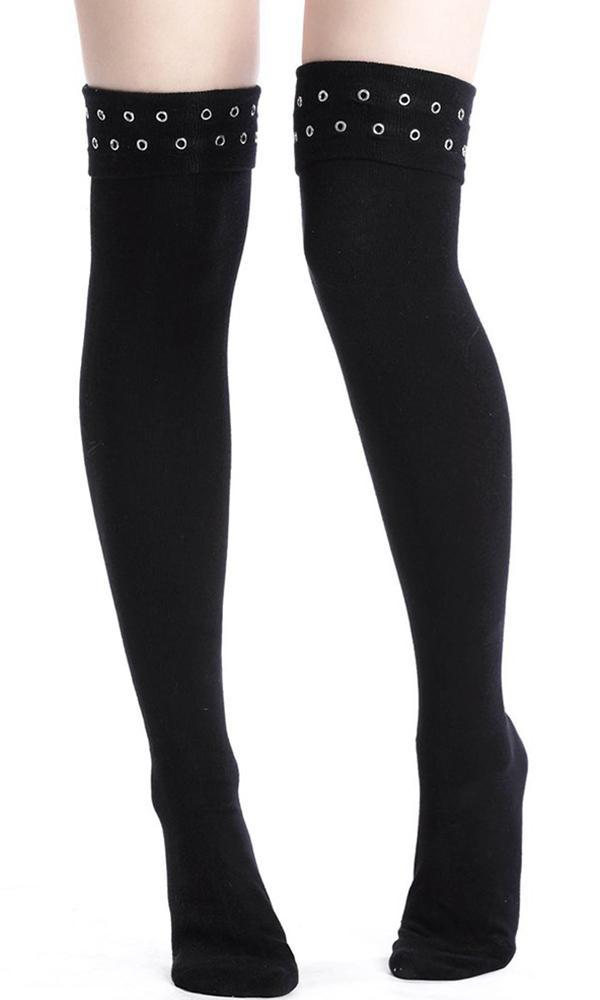 ce5d192fd7728 Killstar - Carley Long Socks - Buy Online Australia – Beserk