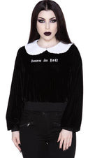 Carrie | COLLAR SWEATSHIRT