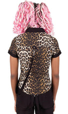 Cat's Meow | CAP-SLEEVE SHIRT
