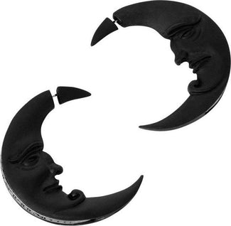Crescent Moon | EARRINGS