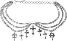 Crucifix | CHAIN BELT