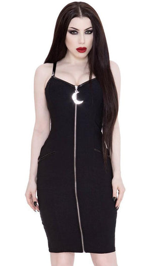 Darklands [Black] | MIDI DRESS