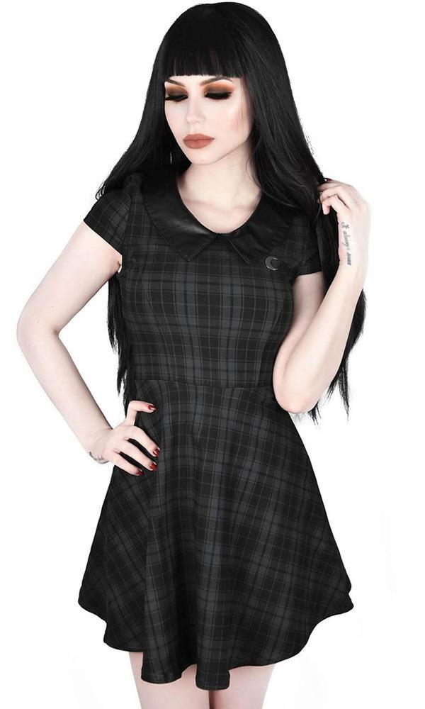 Darklands Doll [Tartan] | DRESS