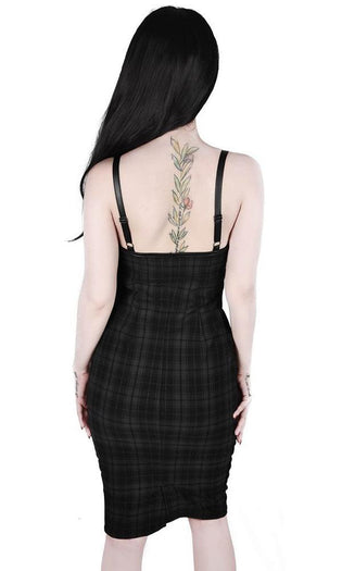 Darklands [Tartan] | MIDI DRESS