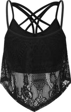 Deadly Beloved [Black] | LACE VEST