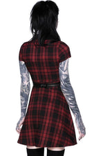 Disgrace [Tartan] | SKATER DRESS