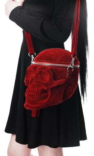 Grave Digger Skull [Blood Red] | HANDBAG