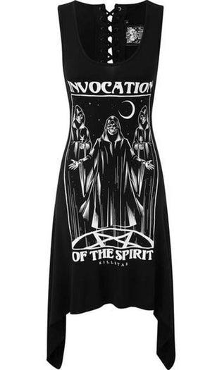 Invocation Lace-Up | TUNIC DRESS*